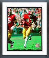 Washington Redskins Larry Brown Action Framed Photo
