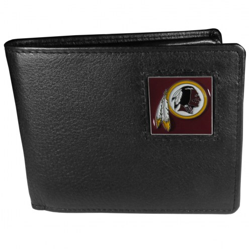 Washington Redskins Leather Bi-fold Wallet in Gift Box