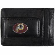 Washington Redskins Leather Cash & Cardholder