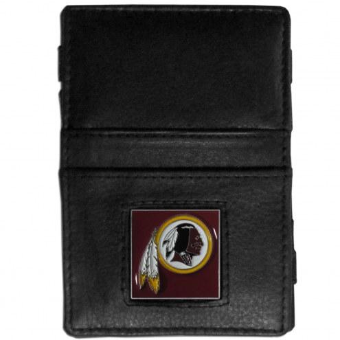 Washington Redskins Leather Jacob's Ladder Wallet