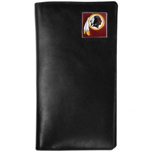 Washington Redskins Leather Tall Wallet