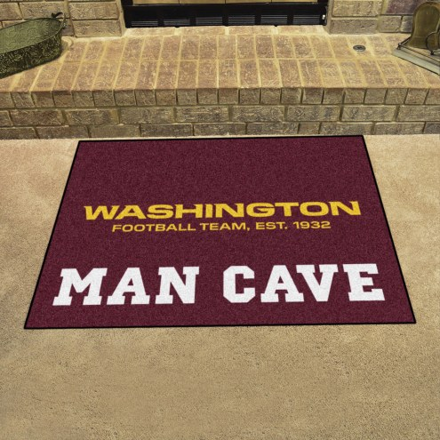 Washington Redskins Man Cave All-Star Rug