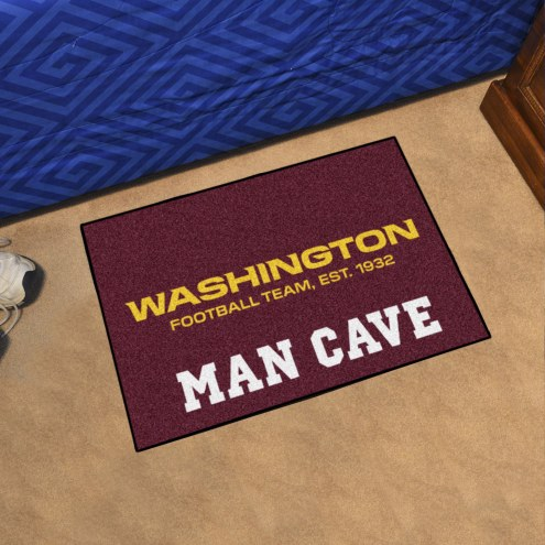 Washington Redskins Man Cave Starter Mat
