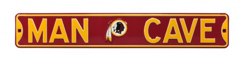 Washington Redskins Man Cave Street Sign