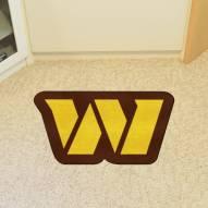 Washington Redskins Mascot Mat