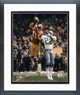 Washington Redskins Mike Bass 1974 Action Framed Photo