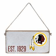 Washington Redskins Mini Plank