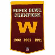 Winning Streak Washington Redskins NFL Dynasty Banner
