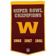 Washington Football Team NFL Dynasty Banner