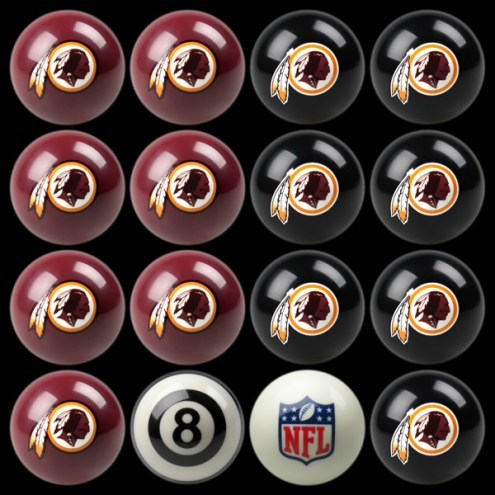 Washington Redskins NFL Home vs. Away Pool Ball Set