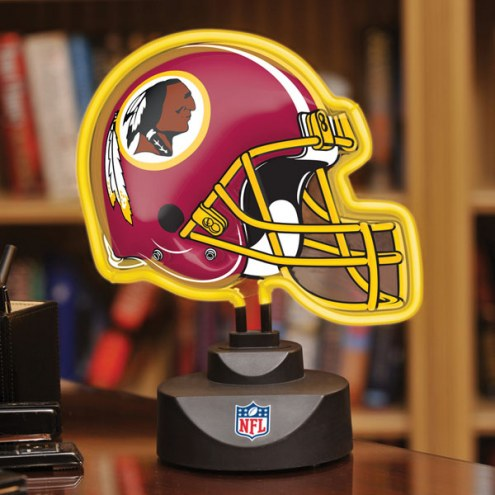 Washington Redskins Neon Helmet Desk Lamp