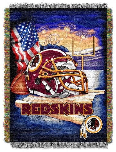 Washington Redskins NFL Woven Tapestry Throw