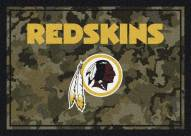 Washington Redskins NFL Team Camo Area Rug