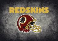 Washington Redskins NFL Team Distressed Area Rug