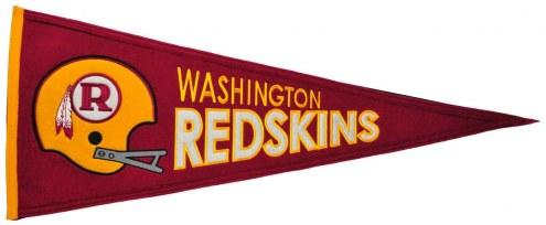 Washington Redskins NFL Throwback Pennant