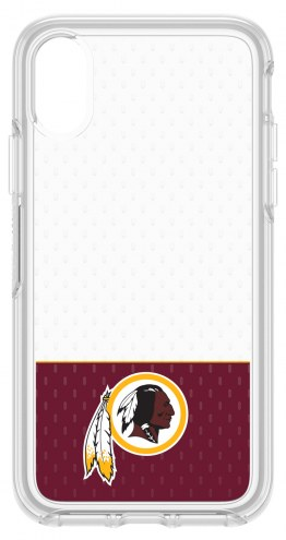 Washington Redskins OtterBox iPhone X Symmetry Clear Case