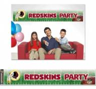 Washington Redskins Party Banner