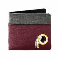 Washington Redskins Pebble Bi-Fold Wallet