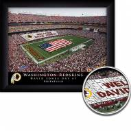 Washington Redskins 11 x 14 Personalized Framed Stadium Print