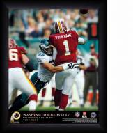 Washington Redskins Personalized 11 x 14 NFL Action QB Framed Print