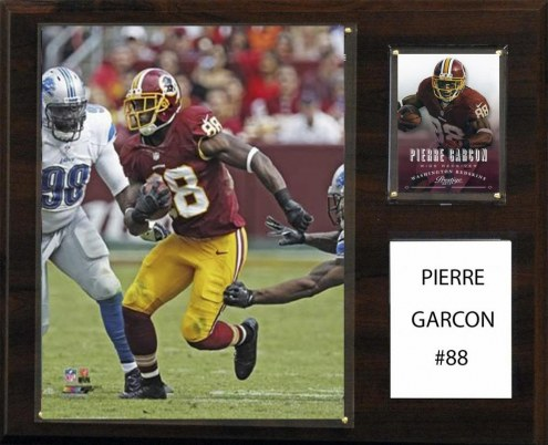 "Washington Redskins Pierre Garcon 12"" x 15"" Player Plaque"
