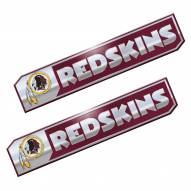 Washington Redskins Premium Edition Metal Car Emblem - 2 Pack