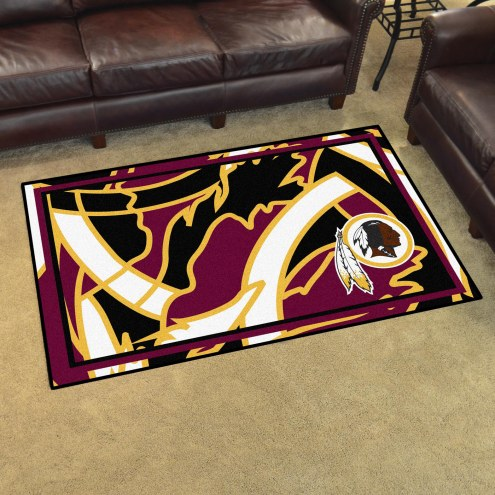 Washington Redskins Quicksnap 4' x 6' Area Rug