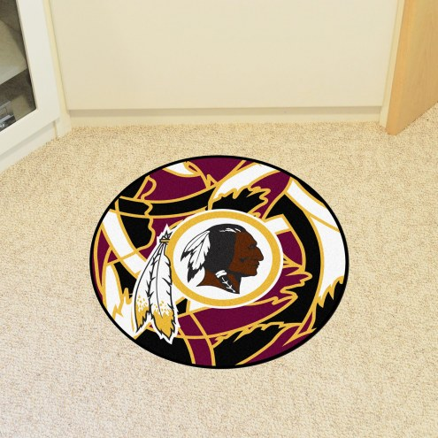 Washington Redskins Quicksnap Rounded Mat