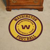 Washington Redskins Rounded Mat