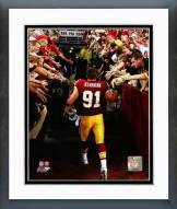 Washington Redskins Ryan Kerrigan Action Framed Photo