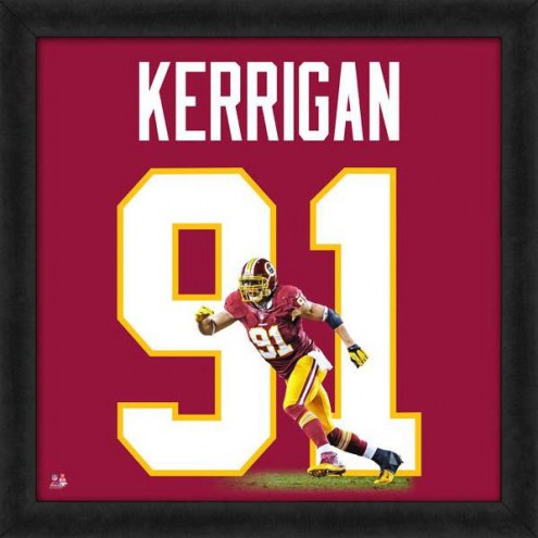 Washington Redskins Ryan Kerrigan Uniframe Framed Jersey Photo