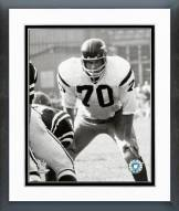 Washington Redskins Sam Huff 1967 Action Framed Photo