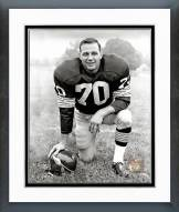 Washington Redskins Sam Huff Posed Framed Photo