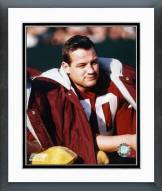 Washington Redskins Sam Huff Sidelines Framed Photo