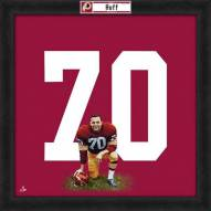 Washington Redskins Sam Huff Uniframe Framed Jersey Photo