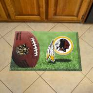 Washington Redskins Scraper Door Mat