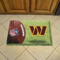 Washington Redskins Scraper Door Mat