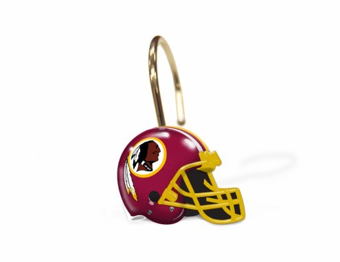 Washington Redskins Shower Curtain Rings