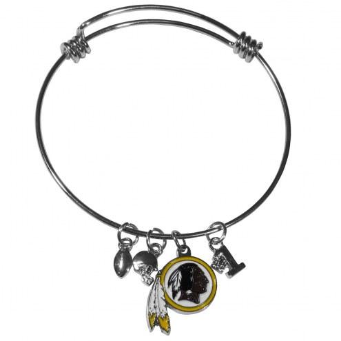 Washington Redskins Charm Bangle Bracelet