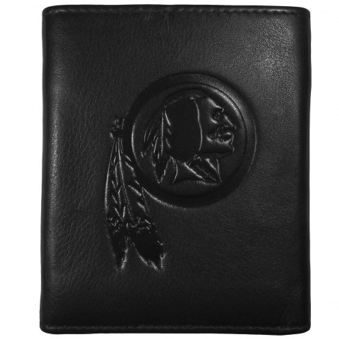 Washington Redskins Embossed Leather Tri-fold Wallet