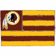 Washington Redskins Small Flag Wall Art