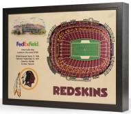 Washington Redskins 25-Layer StadiumViews 3D Wall Art