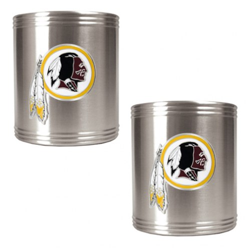Washington Redskins Stainless Steel Can Coozie Set