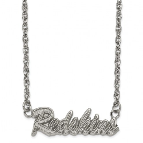 Washington Redskins Stainless Steel Script Necklace