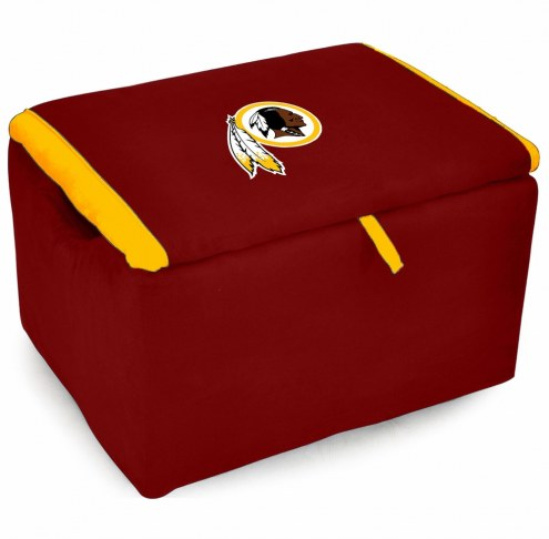 Washington Redskins Storage Bench