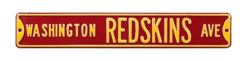 Washington Redskins Street Sign
