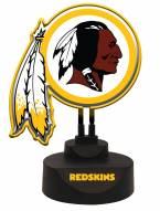 Washington Redskins Team Logo Neon Light