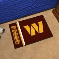 Washington Redskins Uniform Inspired Starter Rug