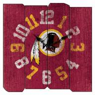 Washington Redskins Vintage Square Clock