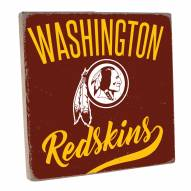 Washington Redskins Vintage Square Wall Sign